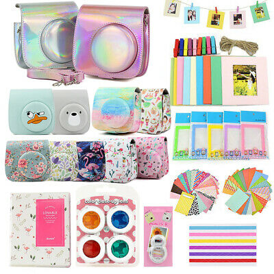 For Fujifilm Instax Mini 8 9 Camera Case Accessories Kit Carry Bag Photo Album