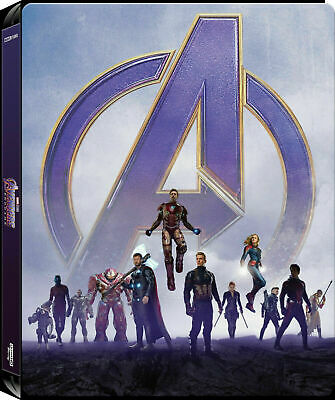 The Avengers Endgame  - Limited Edition Steelbook [4K UHD - Blu-ray] New!!