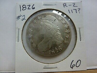 1826 Capped Bust Silver Half Dollar #2
