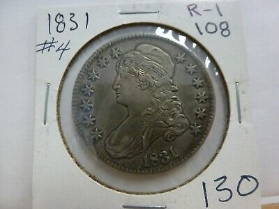 1831 Capped Bust Silver Half Dollar #4