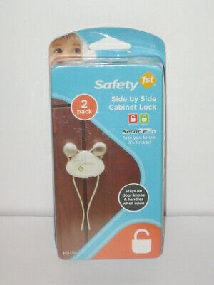 Safety 1st Side by Side Cabinet Lock 2 Pack SecurTech