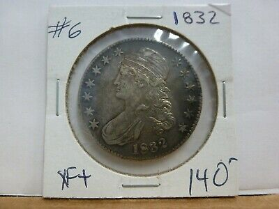 1832 Capped Bust Silver Half Dollar #6