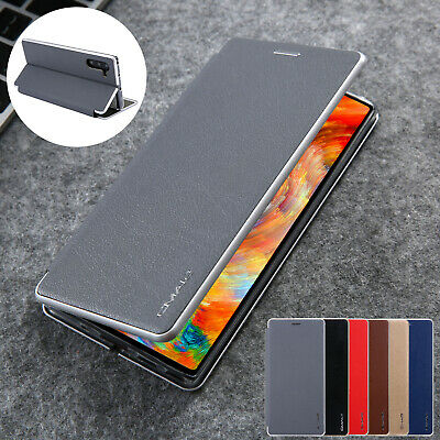 For Samsung Galaxy Note 10 Plus Magnet Leather Flip Card Wallet Stand Case Cover