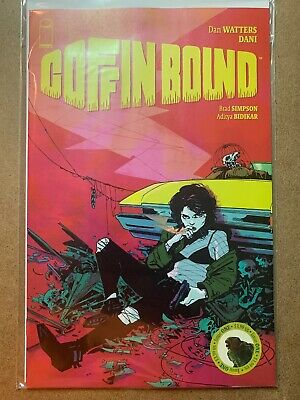 COFFIN BOUND #1 AUGUST 2019 IMAGE COMIC DAN WATTERS & DANI HTF Hot Sold Out!