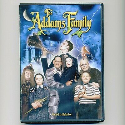 Addams Family 1991 movie, new DVD, Anjelica Huston, Raúl Juliá, Lloyd, Halloween