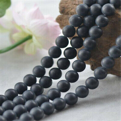 """6 mm frosted agate Loose bead Making Jewelry 1PCS 15"""" Wholesale Shining ELEMENTS"""