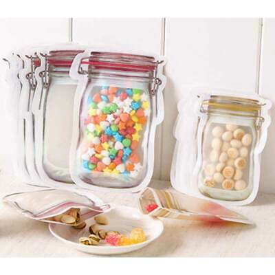 Resealable Ziplock Clear Plastic Bag Zipper Food Grade Package Packaging Pouches