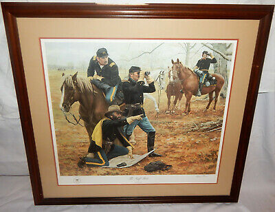 "/""The Staff Ride/"" Don Stivers Civil War Commemorative Edition Giclee Print"