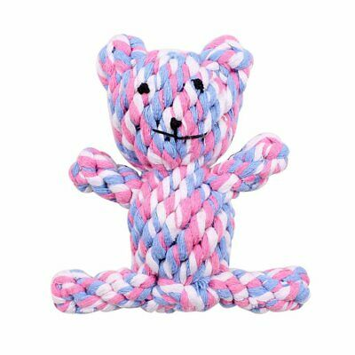 Pet Dog Chew Toy Animal Cotton Rope Braided Toy Pet Molars Teeth Clean Toy
