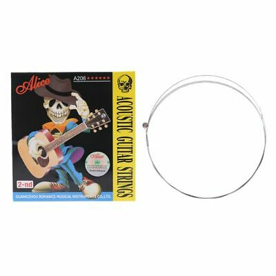 1PC Alice Acoustic Folk Guitar Strings 015 inch Light Super Stainless Steel Core