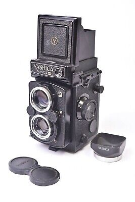 Camera Tlr Yashica Matte 124G Lens Yashinon F/3.5 - 80mm + Accessories