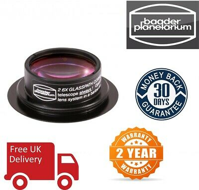 Baader 2.6x Glasspath corrector For Maxbright/Mark V Binocular Viewer (UK Stock)