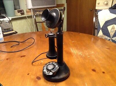 WESTERN ELECTRIC. 51AL dial stick w/ 2AB dial & 144 receiver.  Works!!!