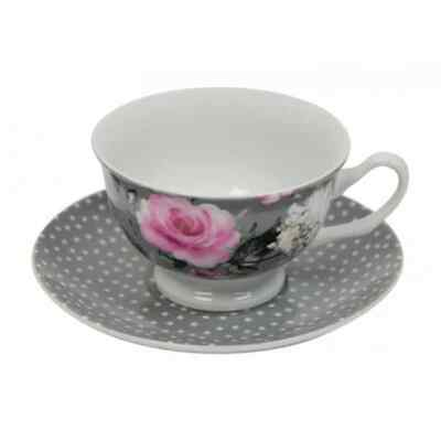 Annabel Trends Tea cup Floral Design in a Beautiful Gift Box Roses