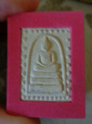 Old  Thai Cased  Buddha  Amulet  Charm Original Nok Temple Case