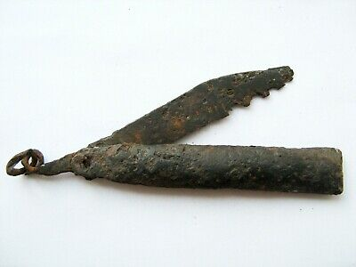 Ancient Medieval iron knife