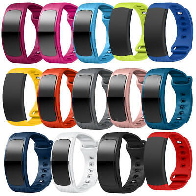 For Samsung Gear Fit2 SM-R365 Watch Soft Silicone Replacement Wrist Band Strap