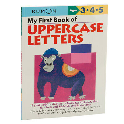 NEW Book Kumon My First Book of Uppercase Letters