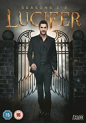 Lucifer Season 1 and 2 DVD New UNSEALED MINOR BOX WEAR