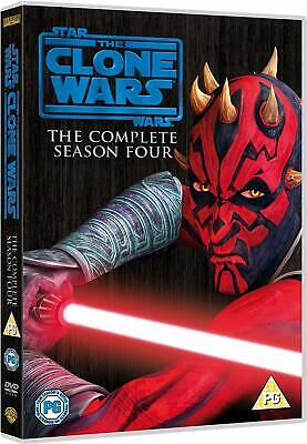Star Wars: The Clone Wars Complete Season Four / Series 4 DVD New UNSEALED