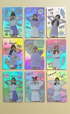 Twice 3rd Mini Album TWICEcoaster Lane 1 Official Hologram Ver. Photocard SET