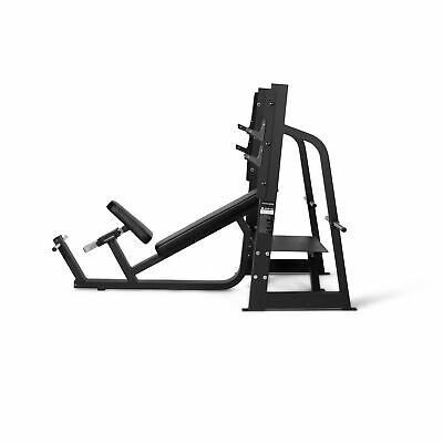 Incline Bench Press Station - PowerGym Fitness - Commercial Grade 3mm Steel