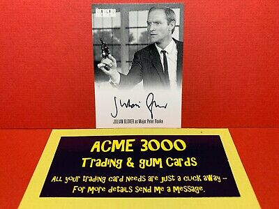 Unstoppable Avengers Complete Collection JULIAN GLIOVER Autograph Card AVJG2