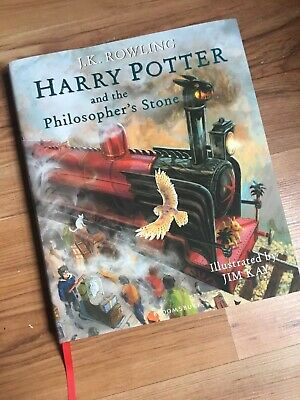 Harry Potter and the Philosopher's Stone: Illustrated Edition Hardback Book.