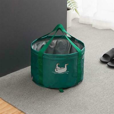 PVC Large Folding Bucket Water Container Carry Bag for Outdoor Camping Fishing