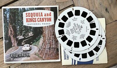 "View Master ""Sequoia and Kings Canyon"" A174"