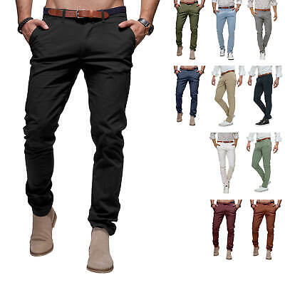 Selected Homme Pantalon Chino Business Look pour