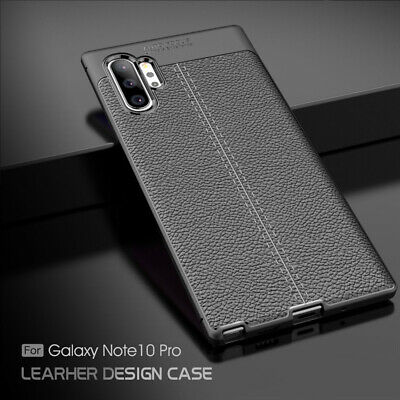 For Samsung Galaxy Note10 Plus Luxury Ultra Slim Soft Rubber Silicone Case Cover