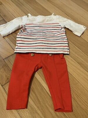 Janie & Jack Infant Girls 2 Piece Outfit Size 3-6 Months