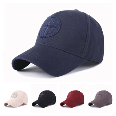 New Stone Island Logo Baseball Hat Cap Adjustable Cap Hat Unisex Golf cap UK
