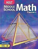 Holt Middle School Math: Middle School Math Course 1 by Rinehart and Winston...
