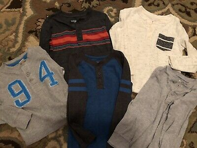 SEVEN Long Sleeve Shirts For Boys, Size 4T, Cat&Jack, Old Navy, EUC