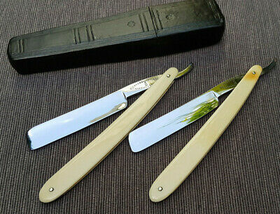 Sheffield made Straight razors by Brookes & Crookes  5/8th in Good Condition