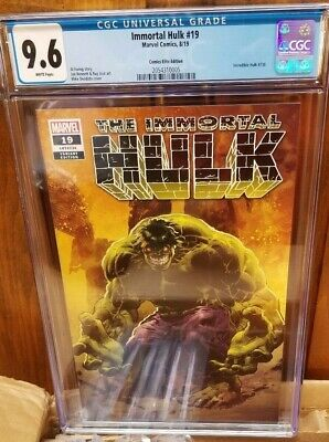 Immortal Hulk #19 (Comics Elite) Incredible Hulk #736 Homage Cgc 9.6 Nm+