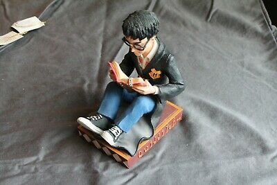 2000 Enesco Harry Potter Quidditch Book End - Harry Reading a Book - Mint Cond.