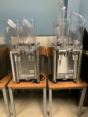 Used Refrigerated Juice Drink Fountain Crathco CS-2E/1D-16