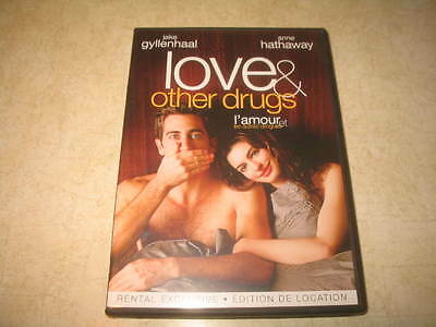 Love & and Other Drugs (DVD, 2011, Canadian) - Ex Rental - Bilingual **READ**