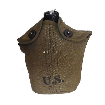 Reproduction US Canteen  Green Cover Collection 0.8L