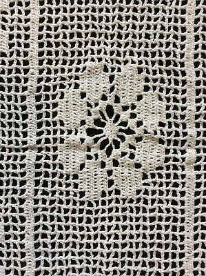 🖐 Handmade Cotton Lace Crochet RECTANGLE table runner, placemat, doily (i).