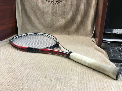 PRINCE WARRIOR 100 TENNIS RACQUET POWER LEVEL 1000 GOOD CONDITION Ships Free!!