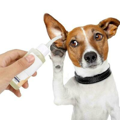 Cats Dogs Ear Cleaner Pet Ear Drops Oil For Infections Control Yeast Mites