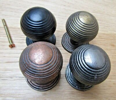 CAST IRON BEEHIVE - vintage cabinet cupboard chest drawer knobs pull handles