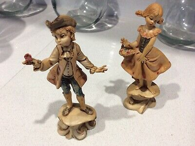 DEPOSE ITALY Figurines 275 and 276 Girl & Boy