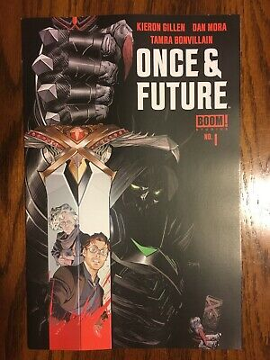 ONCE AND FUTURE #1 (Boom! Studios 2019) KIERON GILLEN SOLD OUT 1ST PRINT HOT