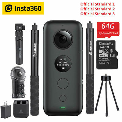 Insta360 ONE X Action Camera VR 360 Panoramic Video Camera for iPhone Android SP