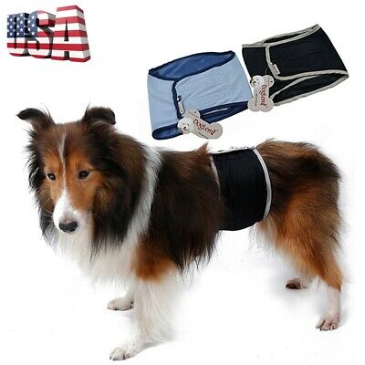 Male Dog Sanitary Pants Male Puppy Nappy Diaper Belly Wrap Band Underpants XS-XL